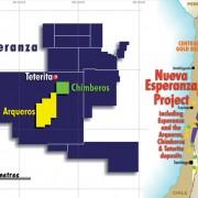 Location of the Nueva Esperanza Project