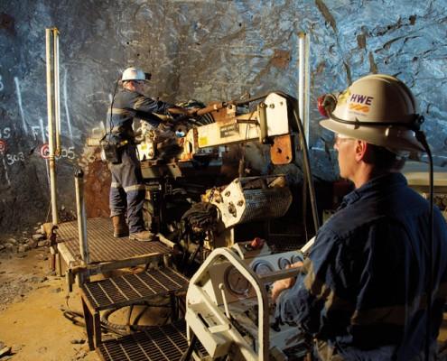 Challenger - underground mining