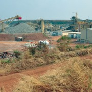 Chatree processing plant