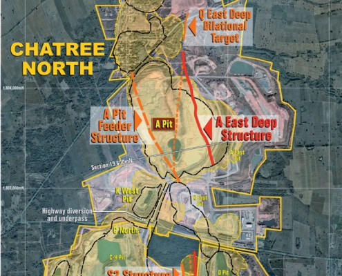 Chatree and Chatree North Gold Mine